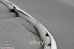 2008 2009 Ford F250 F350 XL Work Truck -Driver Side Bottom Vinyl Seat Cover Gray