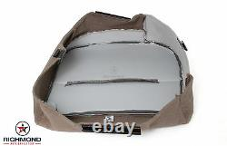 2008 2009 Ford F450 F550 XL Work Truck -Driver Side Bottom Vinyl Seat Cover Gray