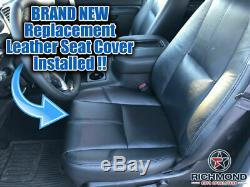 2008 Chevy 2500 3500 Work Truck Base WT-Driver Side Bottom VINYL Seat Cover Gray