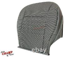 2008 Dodge Ram 1500 ST Base WORK TRUCK -Driver Side Bottom Cloth Seat Cover Gray