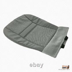 2008 Dodge Ram 1500 Truck Driver Bottom Fabric Seat Cover In Medium Slate Gray