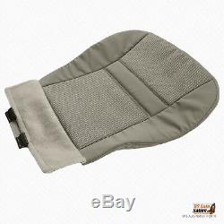 2008 Dodge Ram 1500 Truck FRONT Driver Side Bottom CLOTH Seat Cover Khaki Tan