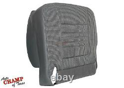 2008 Dodge Ram 2500 WORK TRUCK Base ST -Driver Side Bottom Cloth Seat Cover Gray