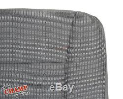 2008 Dodge Ram 3500 WORK TRUCK Base ST -Driver Side Bottom Cloth Seat Cover Gray