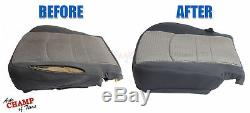 2009-2010 Ford F150 XL Work Truck WithT -Driver Side Bottom Cloth Seat Cover Gray