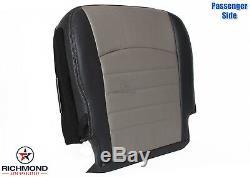 2009-2012 Dodge Ram ST Work Truck -Passenger Side Bottom Vinyl Seat Cover Gray
