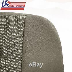 2009 Dodge Ram 2500 3500 Truck Driver Bottom Cloth Seat Cover Med Tan INT J3