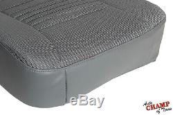 2009 Dodge Ram 3500 WORK TRUCK Base ST -Driver Side Bottom Cloth Seat Cover Gray
