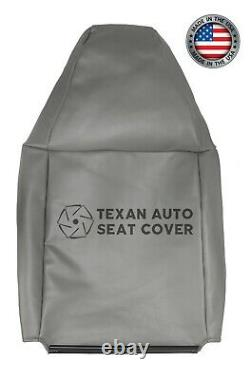 2010 2011 2012 Chevy Express 1500 Work Truck Driver Lean Back Seat Cover Gray