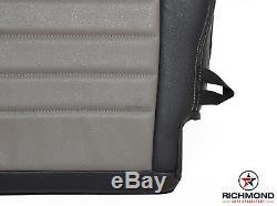 2010-2012 Dodge Ram 2500 Work Truck ST -Driver Bottom Vinyl Seat Cover Dark Gray