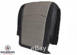 2010-2012 Dodge Ram 3500 Work Truck ST -Driver Bottom Vinyl Seat Cover Dark Gray