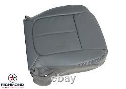 2011-2014 Ford F-150 Work Truck Base XL-Driver Side Bottom Vinyl Seat Cover Gray
