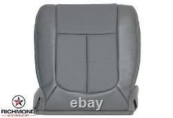 2011-2016 Ford F250 F350 XL Work-Truck -Driver Side Bottom Vinyl Seat Cover Gray