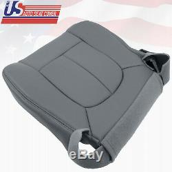 2011 Ford F150 Work Truck Driver Bottom Vinyl Replacement Seat Cover GRAY