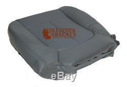 2011 Ford F150 Work Truck Driver Side Bottom Vinyl Replacement Seat Cover Gray