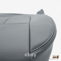 2011 Ford F150 Work Truck Front Driver Bottom Seat Cover SYNTHETIC LEATHER GRAY