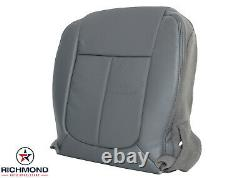 2012 2013 Ford F-150 Work Truck Base XL-Driver Side Bottom Vinyl Seat Cover Gray