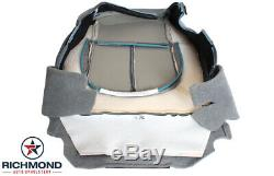 2012 2013 Ford F250 F350 XL Work-Truck -Driver Side Bottom Vinyl Seat Cover Gray