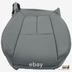 2012 Ford F150 Work Truck DRIVER Side Bottom Seat Cover SYNTHETIC LEATHER GRAY