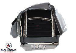 2013-2018 Dodge Ram 1500 ST Work Truck -Driver Side Bottom Vinyl Seat Cover Gray