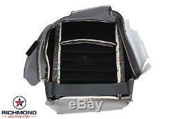2013-2018 Dodge Ram 3500 Work Truck ST -Driver Side Bottom Vinyl Seat Cover Gray