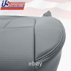 2013 Ford F150 Work Truck Driver Bottom Vinyl Replacement Seat Cover GRAY