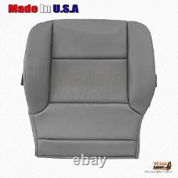 2014 2018 Chevy Silverado Work Truck Driver Side Bottom Vinyl Seat Cover Gray