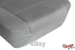 2014-2019 Chevy Silverado Work Truck WT-Driver Side Bottom Cloth Seat Cover Gray