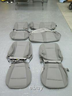 2015 2016 2017 2018 Ford F150 XLT Extended truck OEM seat cover set Gray cloth