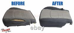 2015 2016 2017 Chevy 2500 HD Work Truck-Driver Side Bottom Cloth Seat Cover Gray