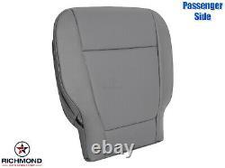 2015-2020 Ford F-150 XL Work Truck Passenger Side Bottom Vinyl Seat Cover Gray