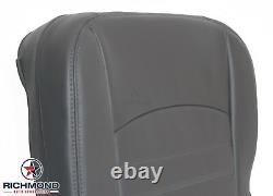 2016 2017 Dodge Ram 3500 Work Truck ST -Driver Side Bottom Vinyl Seat Cover Gray