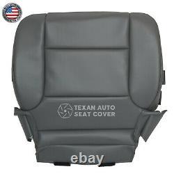 2016-2018 Chevrolet Silverado 3500HD Work Truck Driver Bottom Seat Cover Gray
