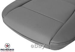 2018 2019 Ford F250 F350 XL Work-Truck -Driver Side Bottom Vinyl Seat Cover Gray