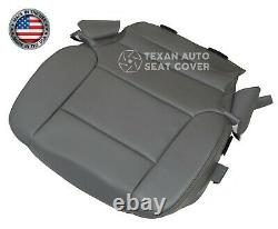 2018 Chevy Silverado 2500HD Work Truck Driver Bottom Leatherette Seat Cover Gray