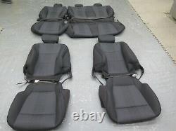 2019 2020 Ford F150 XLT crew truck OEM F/R seat cover set Ebony