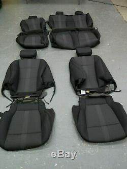2019-2020 Ford F150 XLT truck OEM front & rear seat cover set Black