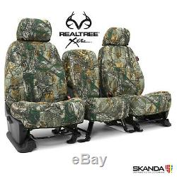 2019-2020 Ram Crew Cab Truck Custom Seat Covers Coverking Realtree Xtra