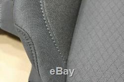 2019 Chevy Silverado 1500 OEM Black Cloth Seat Covers Crew Cab Truck New Take Of
