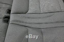 2019 Chevy Silverado 1500 OEM Cloth GRAY Seat Covers Crew Cab Truck New Take Off