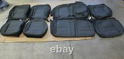 2020 RAM 1500 Cloth Seat Covers GRAY Crew Cab Truck OEM Factory New Take Off