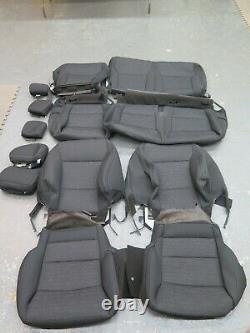 2021 Ford F150 XLT crew truck OEM F/R seat cover set black
