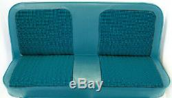 67-72 Chevy/GMC C10 Truck Blue Houndstooth Bench Seat Cover Made in USA