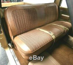 67-72 Chevy/GMC C10 Truck Saddle Houndstooth Bench Seat Cover Made in USA
