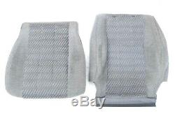89-95 Toyota 4Runner Pickup Truck Lower Bucket Seat Cushion Pad OEM Cover GRAY
