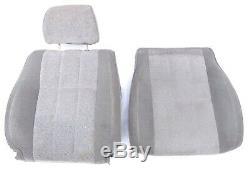 89-95 Toyota 4Runner Pickup Truck Lower Bucket Seat Cushion Pad OEM Cover GRAY