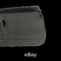 98 03 Ford F150, F250, Work Truck V8 GAS XLT Bottom Bench Seat cover Vinyl GRAY