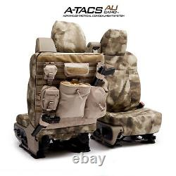 A-TACS Camo Tactical Coverking Cordura Ballistic Front Seat Covers for Ram Truck