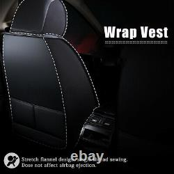 Breathable PU Leather Auto Car Seat Cover Protector Truck Chair Cushion Pad Set