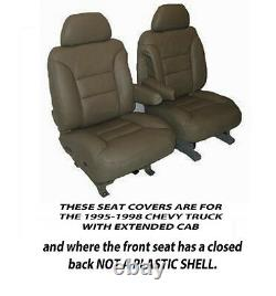 Chevrolet Truck Extended Cab Factory Replacement No Shell Seat Covers 1995-98